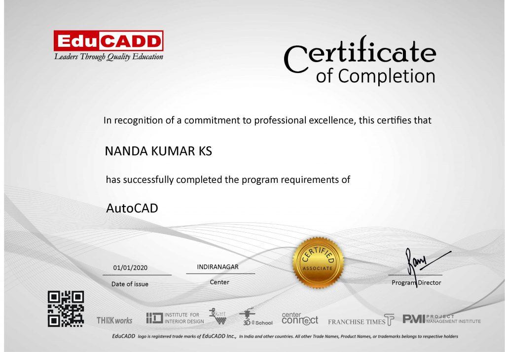 certificate informaton